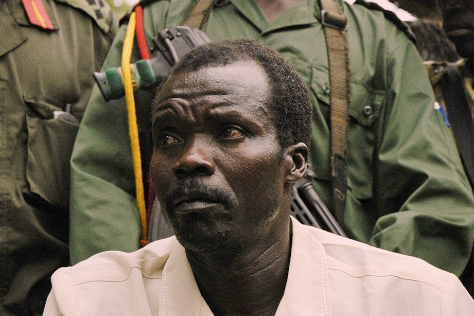 Joseph Kony, commander of the LRA